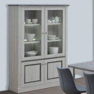 Kasalinea Emmett – Vasciatoio 130 cm, colore: rovere chiaro e grigio