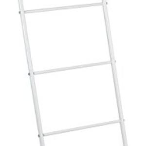 Wenko 22508100Scala portasciugamani Viva, Bianco, Acciaio inossidabile, 43x 156,5x 3,5cm