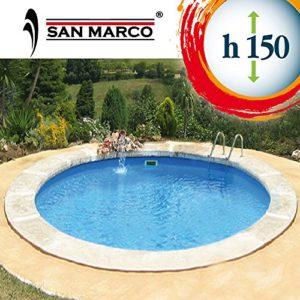 San Marco Piscina interrata Circolare 300x150cm accessoriata